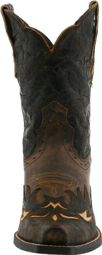 Fashion Silly Women's Boot Brown Western Chocolate Dahlia Ariat Floral qw1tTgx