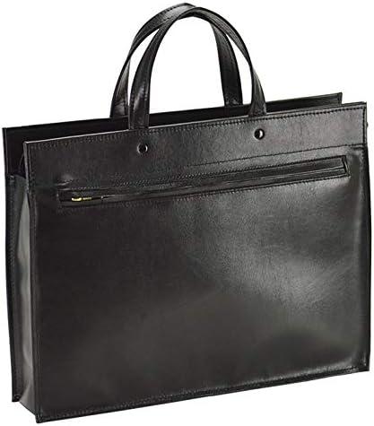 国産 ビジネスバッグ ブリーフケース メンズ A4 日本製 豊岡製鞄 自立 薄型 軽量 ビジネス 黒 ブラック 横幅38cm +オリジナル高級ムートングローブ