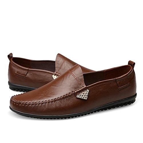 shoes uomo in Hongjun di Mocassini casual da pelle alta qualit daSxIwq