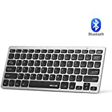 Bluetooth Keyboard, Ultra-Thin Portable Bluetooth Keyboard - Jelly Comb Wireless Keyboard Compatible for Android, Tablet, Smartphone,Windows Surface