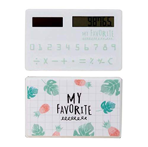 Creative Solar Calculator Cute Mini Calculator, Leaf by DRAGON SONIC