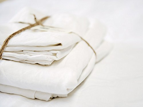 Lausonhouse Luxurious 100% Pure French Linen Sheet Set - King