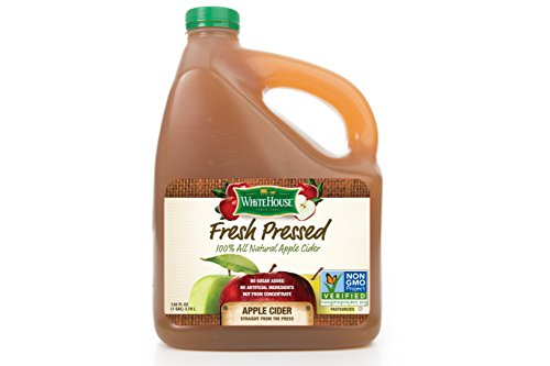 White House Foods Fresh Pressed Apple Cider (1 Gallon)