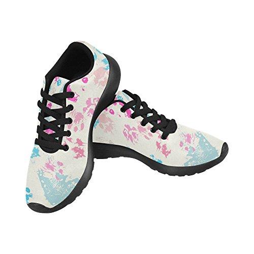Interestprint Kvinners Trail Running Shoes Tilfeldige Lette Atletisk Joggesko