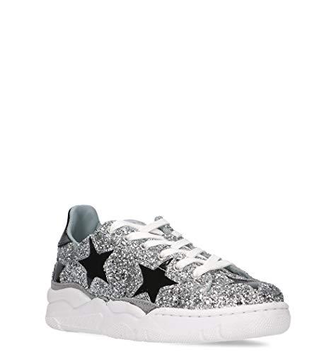 Ferragni Glitter Argento Sneakers Cf2084 Chiara Donna 7FgOxa