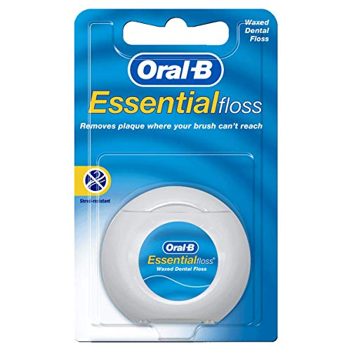 Oral-B Essential Floss 55 Yards Waxed (Pack of 6) ()