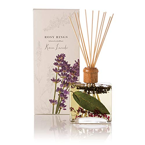 Rosy Rings Botanical Reed Diffuser - Roman Lavender by Rosy Rings