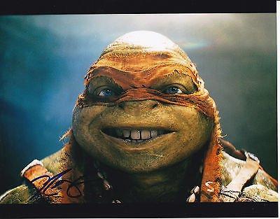 Noel Fisher signed Teenage Mutant Ninja Turtles 8x10 photo ...