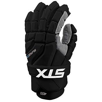 Image of STX Lacrosse Surgeon 400 Gloves, Large, Black