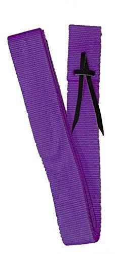 Showman PURPLE Premium Webbed Nylon Saddle Cinch Tie Strap 1.75″ w x 5.75′ long