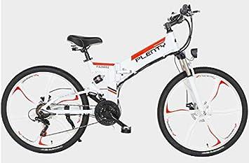 Xiaotian Bicicleta de montaña eléctrica Plegable, batería de Litio ...