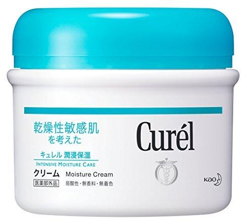 Curel cream F jar 90 g - 90g Jar