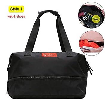 WSDYDB Sports Gym Fitness Dry Wet Separation Yoga Bag Bolsos ...