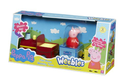 Peppa Pig Weebles Pull-Along Wobbly Train