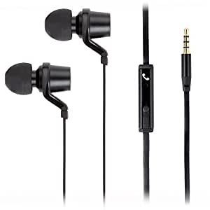Ear Waxed Pro-Cast Tangle Free Earbuds with Mic - LIQUIDATION SPECIAL