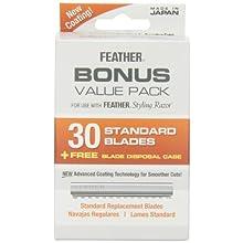 Feather Styling Razor Bonus Value Pack