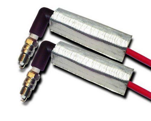 Thermo-Tec 14200 Dual Layer Plug Wire Heat Shield, 2 Piece ()