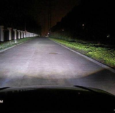 LEZEN H4 P43T 12V 60W/55W Super White Car Halogen Bulb Xenon Filled (Pack of 2)