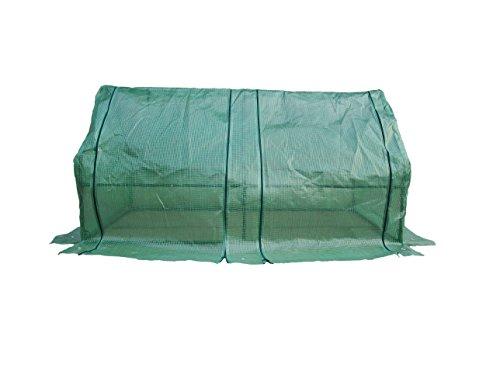 Happy Planter Tunnel Portable Greenhouse, 6' x 3' x 3'