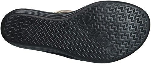 Skechers Women's Rumbler Wave - New Lassie Slide Sandal, Rose Gold