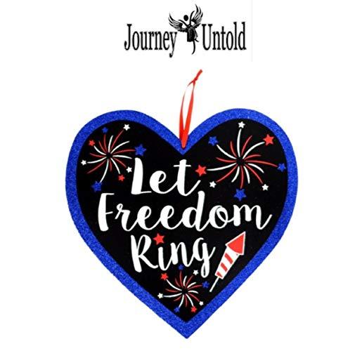 LET Freedom Ring Americana American America Celebration Yard
