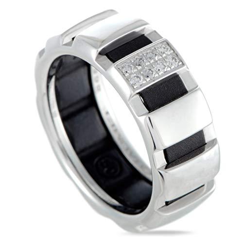 Chaumet (Est) Chaumet 18K White Gold Diamond Pave Wedding Band Ring ()