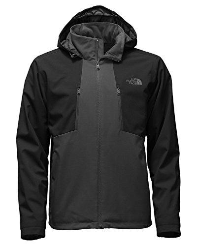 The North Face Men's Apex Elevation Jacket Asphalt Grey/TNF Black (Prior Season) X-Large