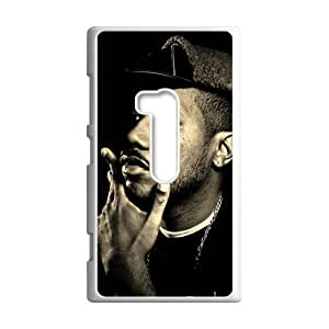 Pop Hip hop Singer Kendrick Lamar Duckworth&K.Dot Background Case Cover for Nokia Lumia 920- Personalized Hard Cell Phone Back Protective Case Shell-Perfect as gift