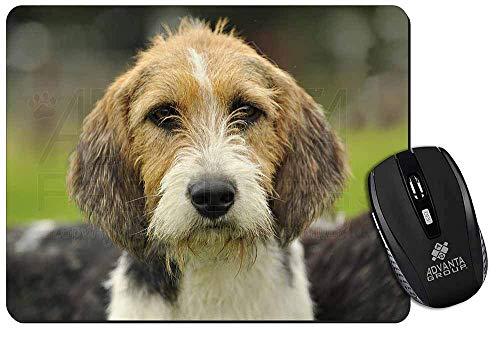 BGLKCS Welsh Fox Terrier Dog Computer Mouse Mat Christmas Gift Idea