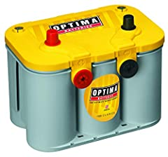 Optima D34/78 YellowTop battery provides the extra performance and deep-cycling capability that your vehicle demands if it has a lot of accessories like running lights, high-performance stereo/AV system, winches, or hydraulics. The unique Spi...