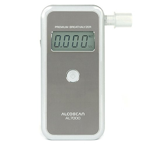 AlcoMate Premium AL7000 Professional Breathalyzer with Prism Technology by AlcoMate