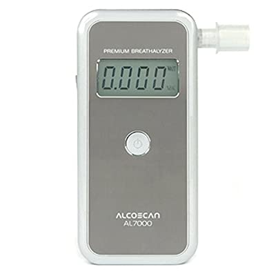 Image of AlcoMate Premium AL7000 Professional Breathalyzer with Prism Technology Health and Household