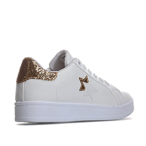 Moedige Soul Dames Stardust Trainers Uk 4 Wit