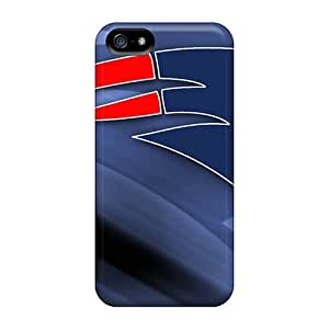 Cute Appearance Cover/tpu OvA3091MaOD New England Patriots Case For Iphone 5/5s