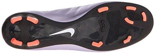 Nike Mercurial Vapor X FG Botas de fútbol de entrenamiento, Hombre Morado / Negro / Amarillo / Blanco (Urbn Lilac / Blk-Brght Mng-White)