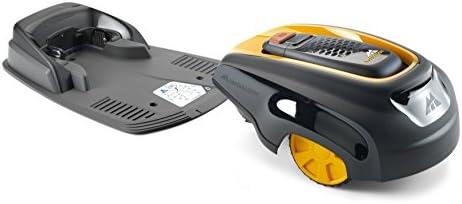 Robot tondeuse McCulloch ROB R1000: Robot tondeuse idéal pour pelouse de 1000 m², temps de charge de 50minutes seulement, 5hauteurs de coupe (N° d'art.00096-70.598.25) - Home Robots