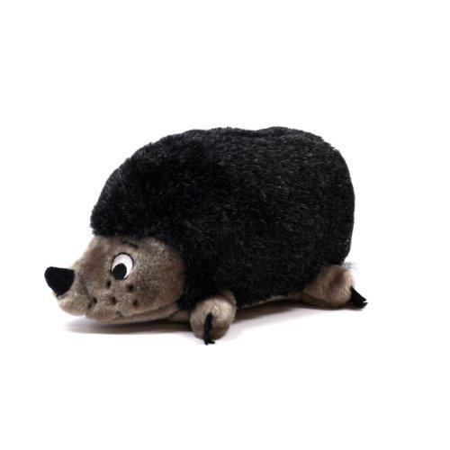 - Outward Hound Kyjen  PP01529 Hedgehog Dog Toys Grunt Toy, Medium, Grey