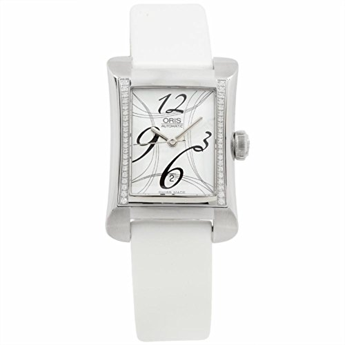 Oris Rectangular Date 2008 automatic-self-wind womens Watch 561 7621 4961 LS (Certified Pre-owned)