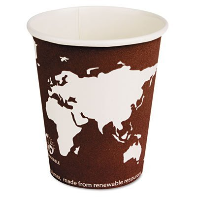 Eco-Products® World Art™ Hot Cups ECP EP-BHC8-WA