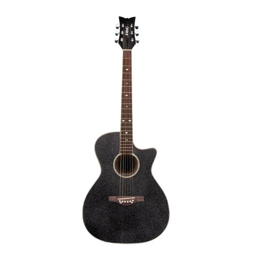 Daisy Rock Wildwood Artist Acoustic-Electric Guitar, Royal Blue Burst