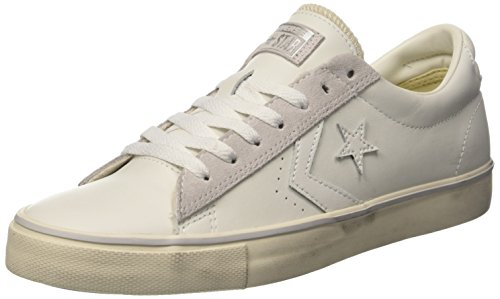 Converse Pro Leather Vulc Ox, Sneaker a Collo Basso Uomo Bianco (White/Mouse/Turtledove)