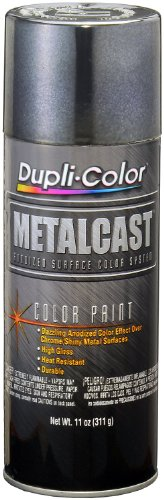 Dupli-Color - MC206-6 PK (EMC206007-6 PK) Smoke Anodized Coating - 11 oz. Aerosol, (Case of 6)