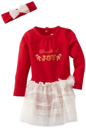 Vitamins Baby Girls' 2 Piece Bundle Of Joy Dress Set