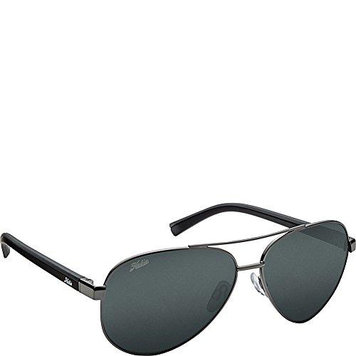 (Hobie Eyewear Broad Sunglasses (Shiny Gunmetal Frame/Grey Polarized Pc Lens))