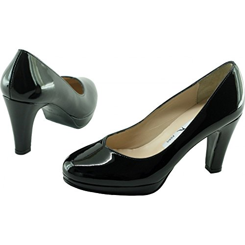 De Beaumond Escarpin Yves Pointures Petites Marque A Keliane Tailles Vernis Chaussures Femme Tendances Noir Plateforme RBxAxHqdn