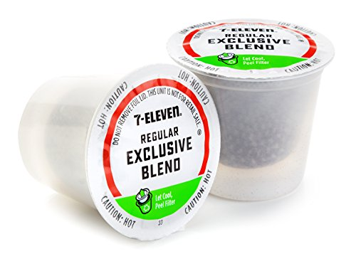 7-Eleven Excepting Blend Coffee Keurig Single-Serve RealCup Pods, 72 Count (6 boxes of 12 Pods)