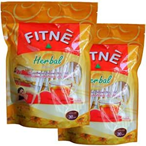 slimming weight loss 60 x FITNE HERBAL GREEN DIET TEA +Free Shipping World Wide