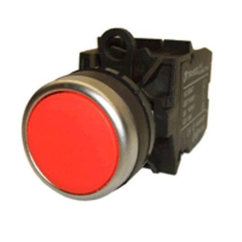 Flush Face (American LED-gible SW-2837-202 Red Push button switch, Flush Face)