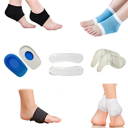 Plantar Fasciitis Foot Compression Sleeve Package - Ankle...