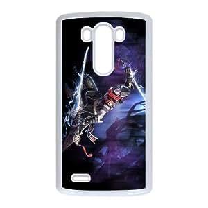 Aion The Tower Of Eternity 8 funda LG G3 caja funda del teléfono celular del teléfono celular blanco cubierta de la caja funda EVAXLKNBC30498